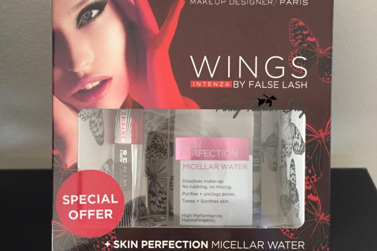 maskara L'Oreal False Lash Wings Intenza + Micelarna voda L'Oréal Paris Skin Perfection