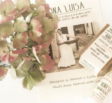 NONA LUISA 🌹 naravni izdelki narejeni iz Narave z Ljubeznijo