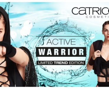 Limited edition:  catrice ACTIVE WARRIOR