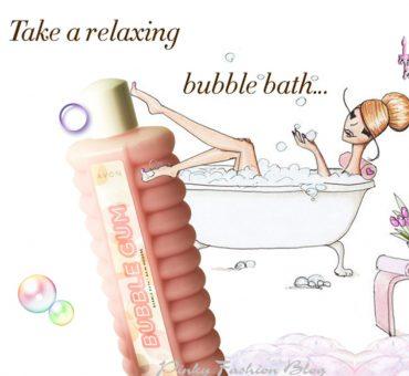 Užitek med mehurčki… z penečo kopeljo žvečilni gumi 🛀