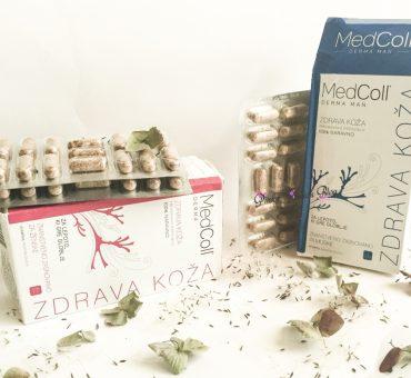 🆕 …do 100% naravno zdrave kože z revolucionarnim izdelkom MedColl Derma