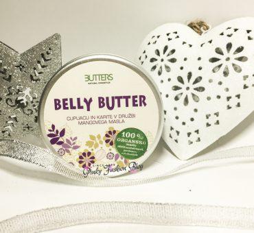 V boj proti strijam 💃maslo Belly butter - BUTTERS