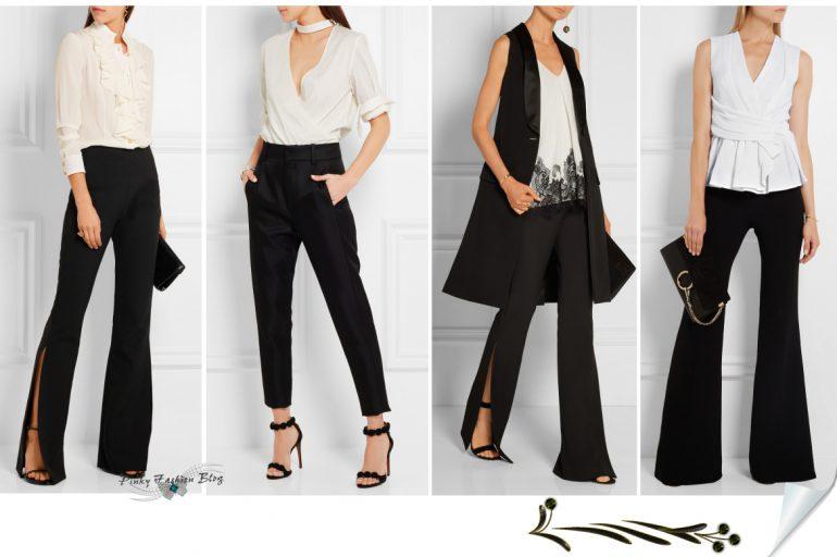 Popolna in večna eleganca 👒 črno&bela