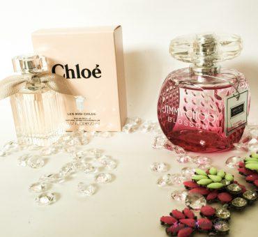Pomladanska serija dišav… cvetlična-sadna vonja Jimmy Choo 💐 in Chloé
