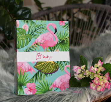 junij • kjut FLAMINGO Beauty BOX