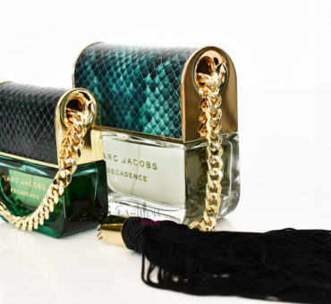 Nikamor brez poljubčka... hitro kapljico parfuma Marc Jacobs decadence