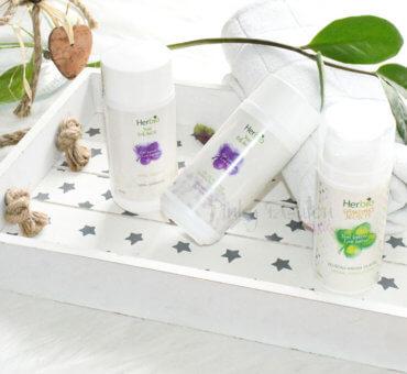 Moj zeliščni ritual z kozmetiko 🍀 Herbio