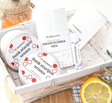 Slovenski čebelji izdelki za razvajanje in nego kože • Beesmetic
